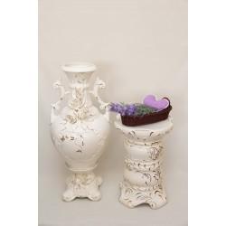 Напольные вазы с колоннами
